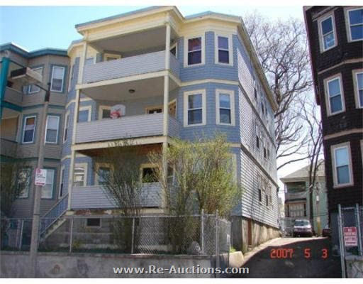 Apartment Building Auctions 36 fessenden street, mattapan (boston) foreclosure auction